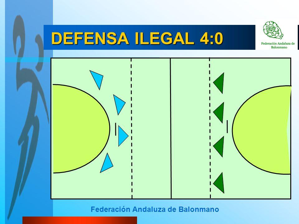 Federación Andaluza de Balonmano DEFENSA ILEGAL 4:0