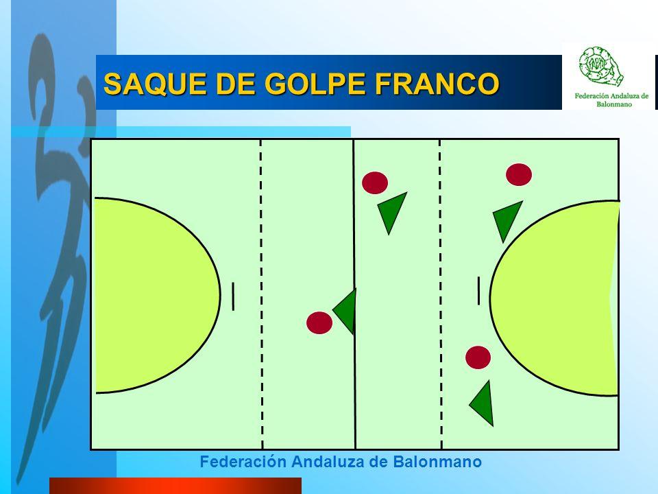 Federación Andaluza de Balonmano SAQUE DE GOLPE FRANCO