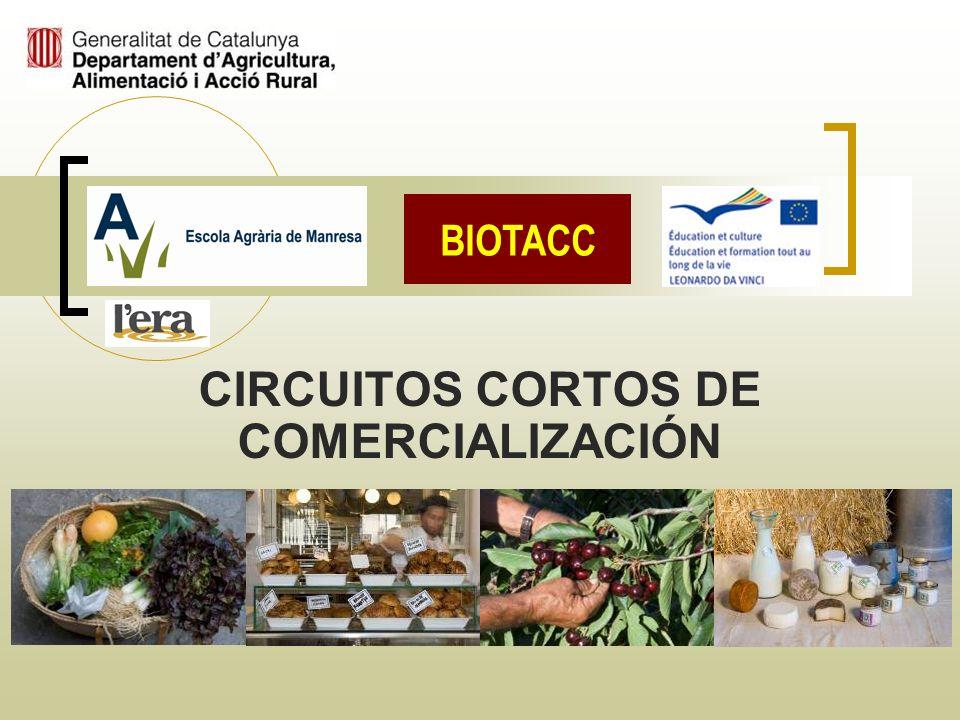 CIRCUITOS CORTOS DE COMERCIALIZACIÓN Ch.-A. Descombes – Marta Arce – Ernest Valls BIOTACC