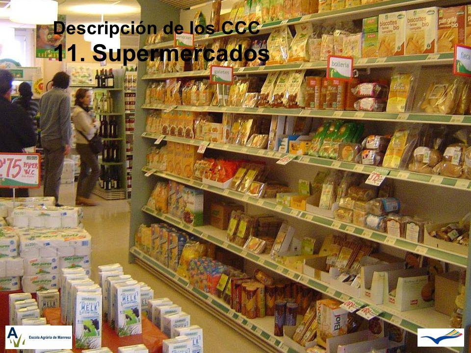 Descripción de los CCC 11. Supermercados