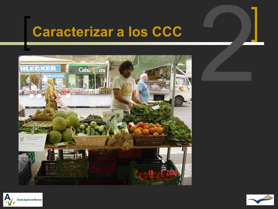 2 Caracterizar a los CCC