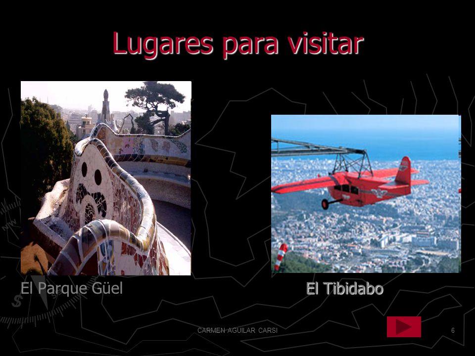 6 Lugares para visitar El Parque Güel El Tibidabo