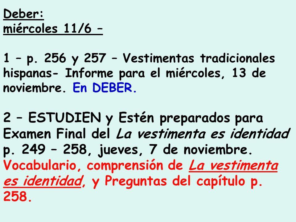 Deber: miércoles 11/6 – 1 – p.