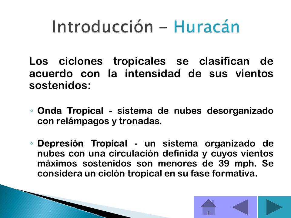 En el Océano Pacífico se les conoce como tifones. Los huracanes se forman sobre los mares y océanos de las zonas tropicales con aguas cálidas. Se obse