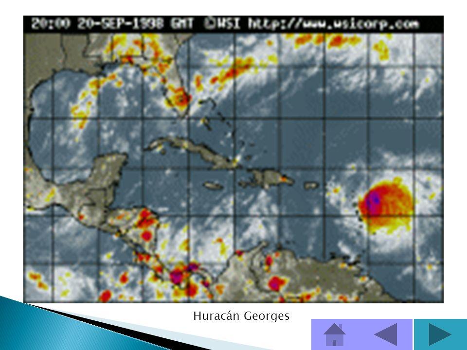 Huracanes que han afectado a Puerto Rico Esta información proviene del Servicio Nacional de Meteorología en San Juan, Puerto Rico. Georges1998 Sept 21