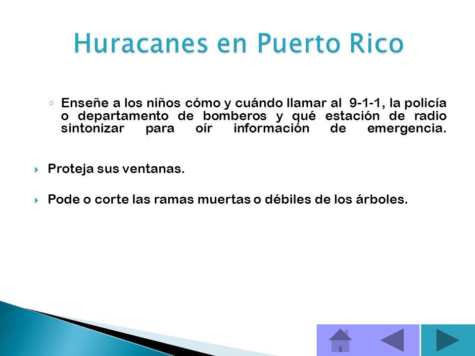 A continuación incluyo algunos consejos sobre los pasos que se deben tomar antes, durante y después de un huracán ANTES DE QUE EMPIECE LA TEMPORADA DE
