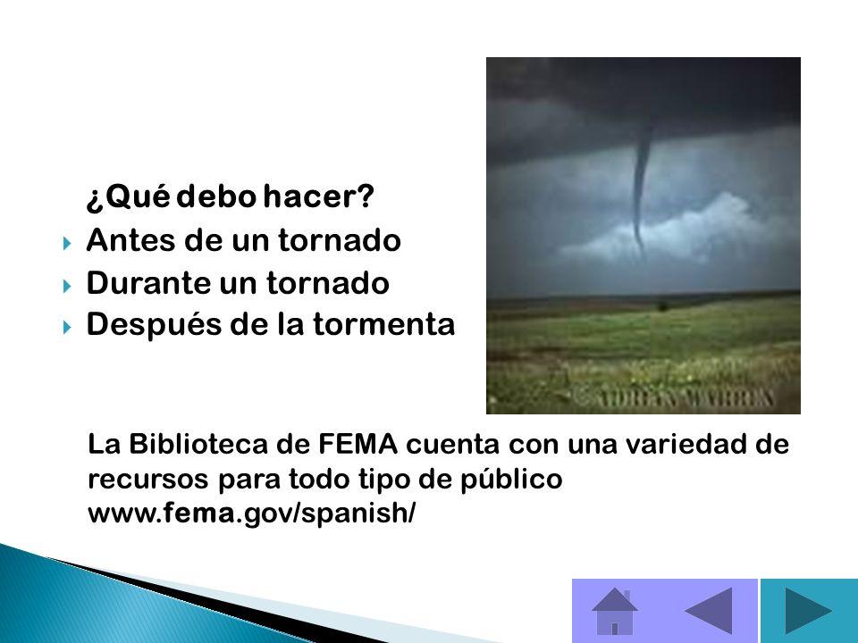 Cuando amenaza un tornado, las personas necesitan un lugar seguro donde ir y tiempo para llegar ahí. Aun con los adelantos en la meteorología, los tie
