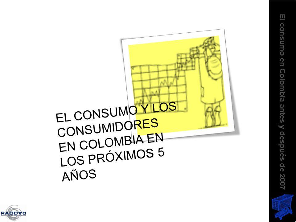 EL CONSUMO Y LOS CONSUMIDORES EN COLOMBIA EN LOS PRÓXIMOS 5 AÑOS