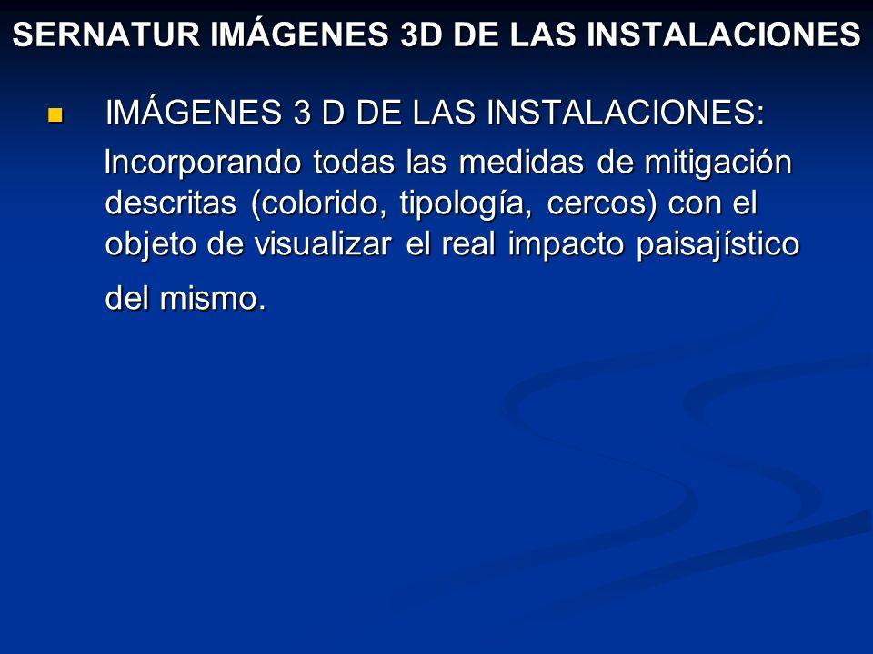 SERNATUR IMÁGENES 3D DE LAS INSTALACIONES IMÁGENES 3 D DE LAS INSTALACIONES: IMÁGENES 3 D DE LAS INSTALACIONES: Incorporando todas las medidas de miti