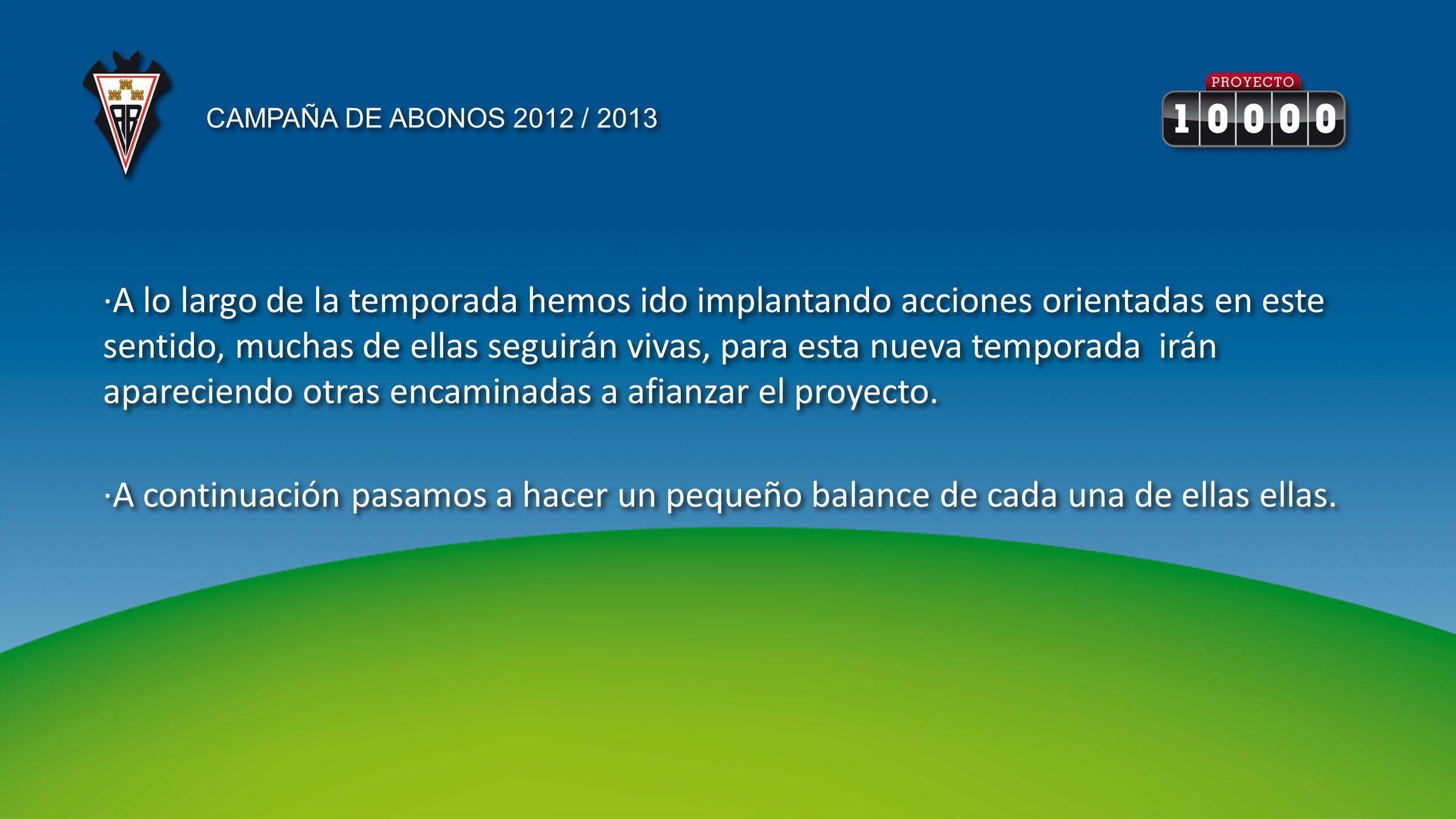 EJEMPLOS TEMPORADA 2011-2012 INCLUIA TEMPORADA 2112- 2013 VENTAJA (CUALQUIER ZONA ) ADULTO EN PREFERENCIA335 ( +90 PARTIDOS DE COPA)LIGA, 50% COPA Y PLAY OFF 200225 MENOS JOVEN EN TRIBUNA100 ( +60 PARTIDOS COPA)LIGA, 50% COPA Y PLAY OFF 100 60 MENOS.