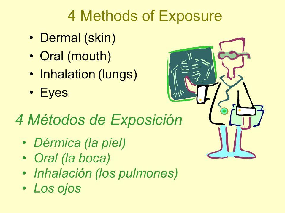 What this means Que significa higher LD 50 /LC 50 = less toxic entre más alto el DL 50 /CL 50 = menos tóxico lower LD 50 /LC 50 = more toxic entre más bajo el DL 50 /CL 50 = más tóxico