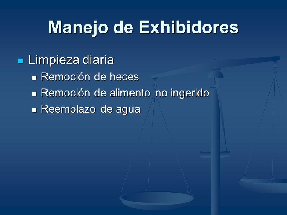 Entorno Serpientes en exhibición Serpientes en exhibición Detrás de vidrio Detrás de vidrio Exhibidores NO mixtos/otros reptiles en exhibición Exhibid