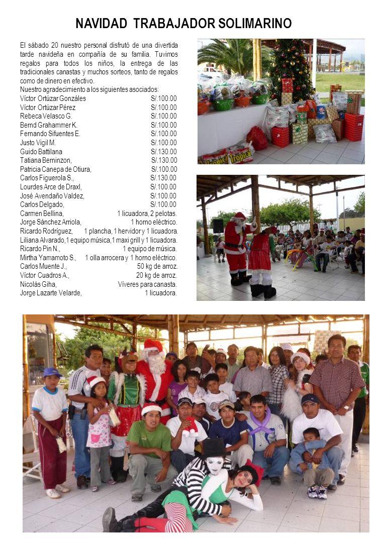 El sábado 20 nuestro personal disfrutó de una divertida tarde navideña en compañía de su familia.