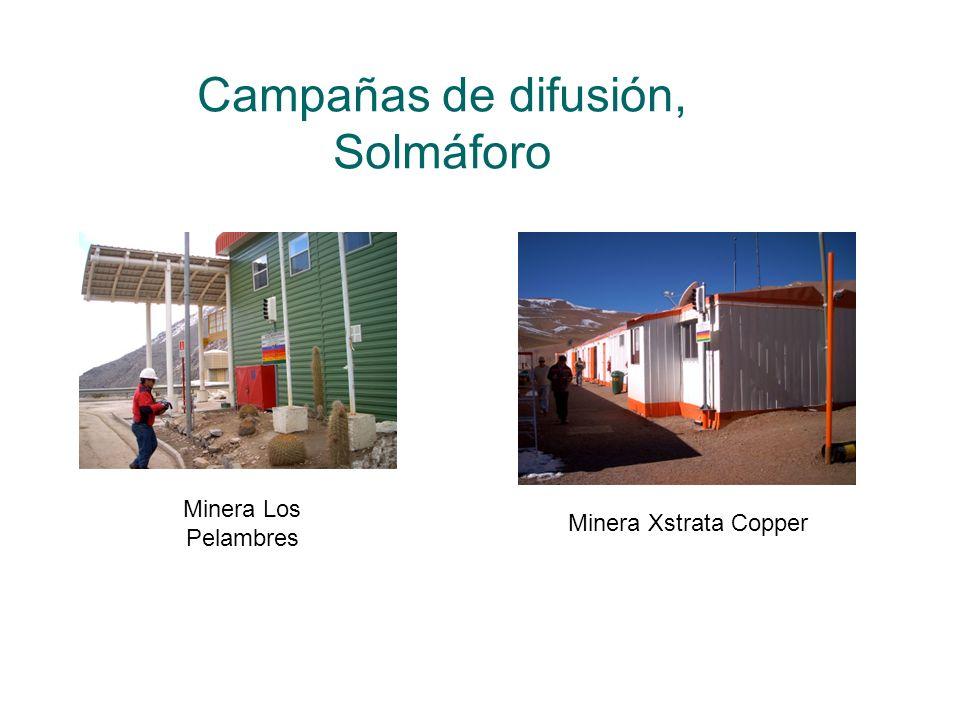 Campañas de difusión, Solmáforo Minera Los Pelambres Minera Xstrata Copper