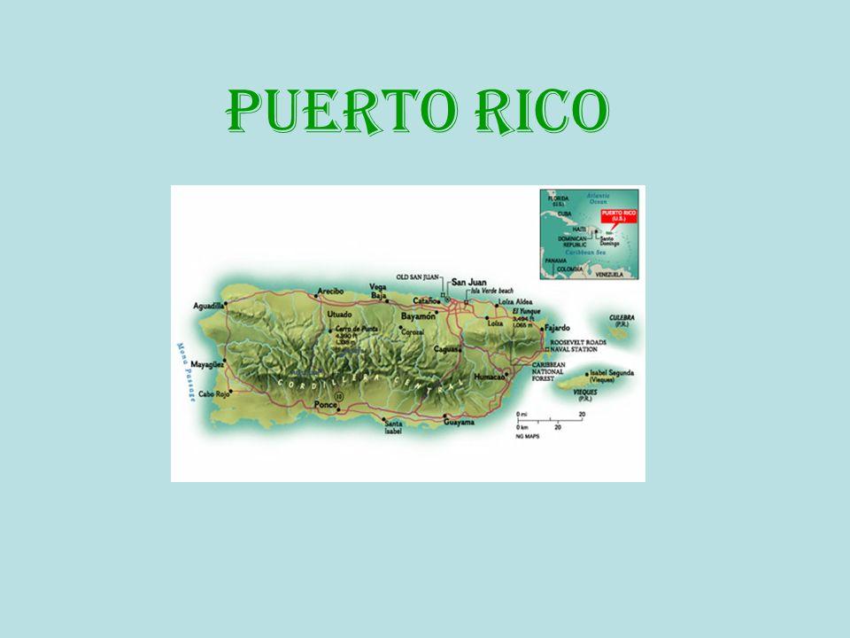 LA COMIDA TíPICA La comida puertorriqueña es viva muestra de la mezcla de varias culturas.