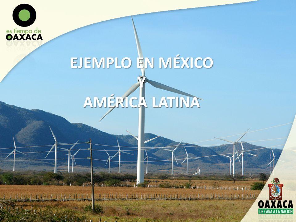 2)Grupo Interinstitucional para la Promoción de Inversiones del Sector Energía del Estado de Oaxaca, en coordinación con CONACYT, PROMEXICO, Sistema de Universidades de Oaxaca, IPN, CINVESTAV, UNAM IIE, UNISTMO, INSTITUTO DE CIENCIAS DE LA ENERGÍA.