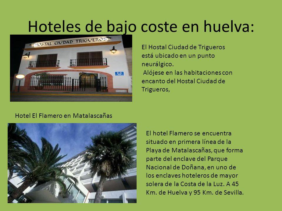 Hoteles de bajo coste en huelva: El Hostal Ciudad de Trigueros está ubicado en un punto neurálgico.