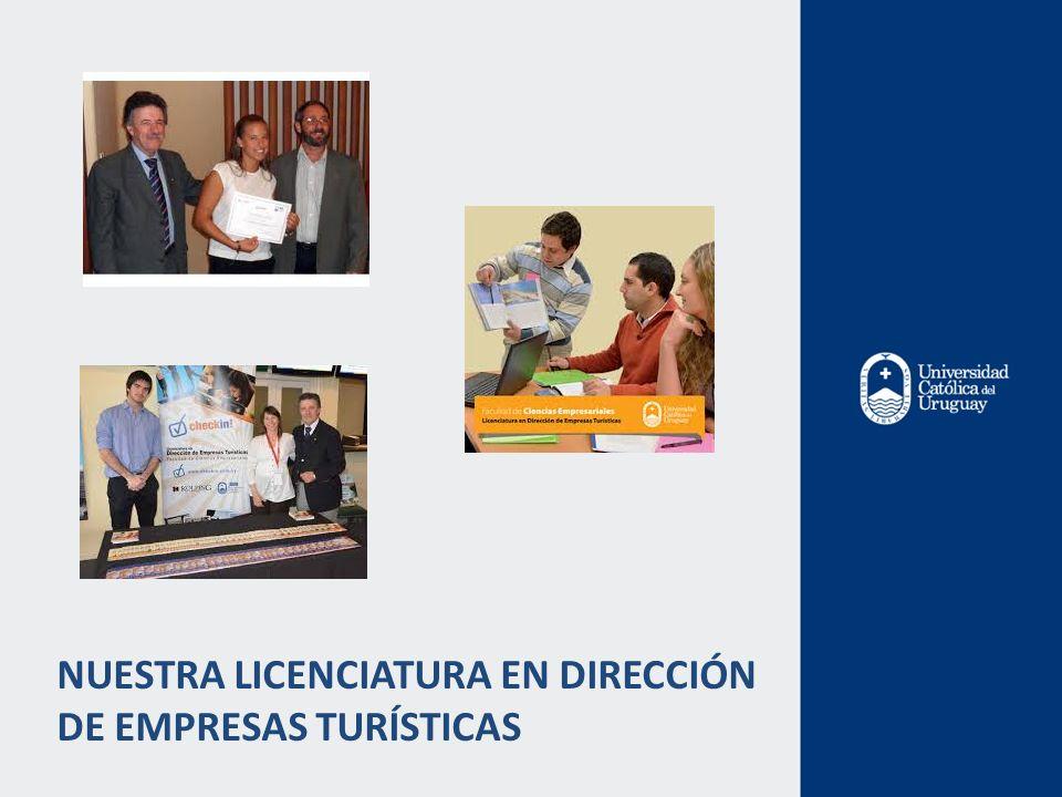 NUESTRA LICENCIATURA EN DIRECCIÓN DE EMPRESAS TURÍSTICAS