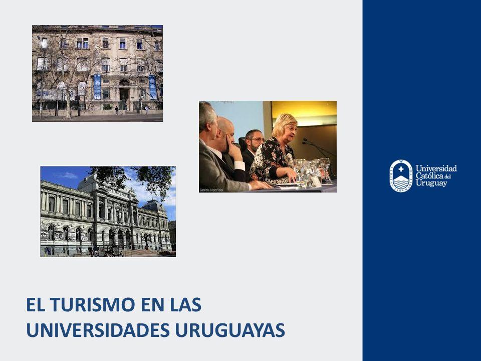 EL TURISMO EN LAS UNIVERSIDADES URUGUAYAS