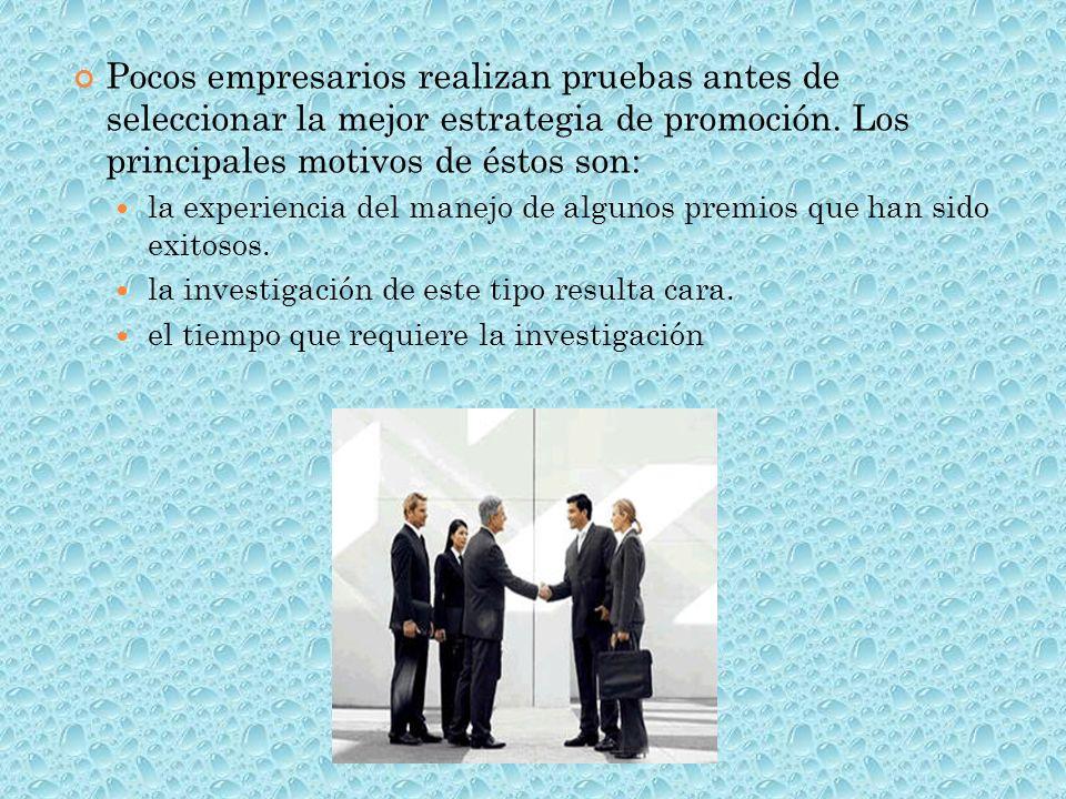 H AY DIFERENTES TIPOS DE PREMIOS UTILIZADOS EN LA PROMOCIÓN DE VENTAS : PREMIOS AUTORREDIMIBLES.