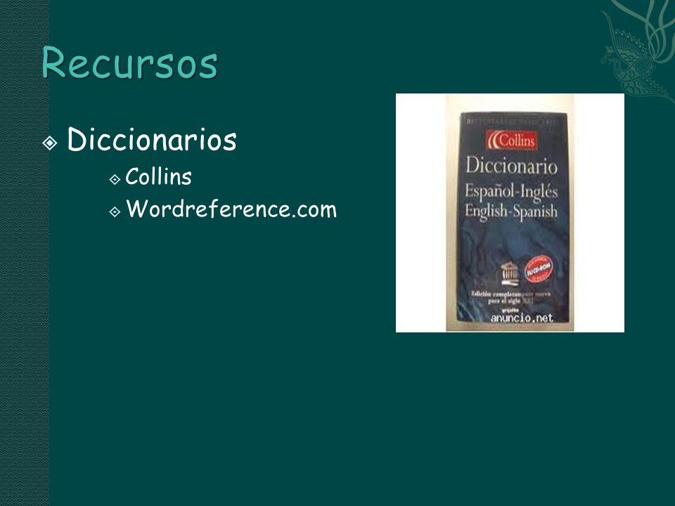 Diccionarios Collins Wordreference.com