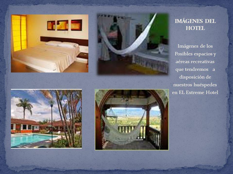Imágenes de los Posibles espacios y aéreas recreativas que tendremos a disposición de nuestros huéspedes en EL Extreme Hotel