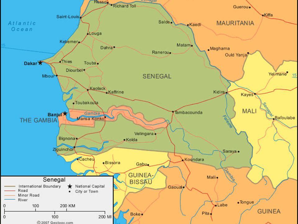 Senegal - Contexto Histórico (7) 1981, Abdou Diouf (Partido Socialista) se convierte en presidente Introducción del pluralismo 1982, Confederación of Senegambia Terminado en 1989 porque Gambia no quiso unificación 2000, Abdoulaye Wade (Partido Democrático Senegalés) Incremento de poder del ejecutivo 2012, Macky Sall (Alianza por la República)