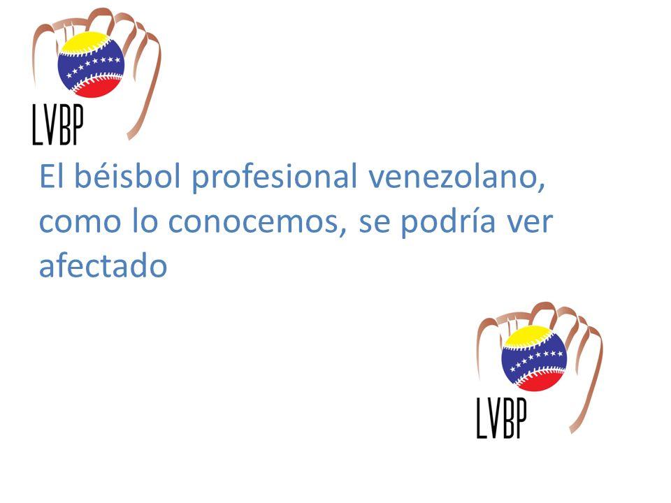 La tradición exitosa del Béisbol Profesional El Béisbol Profesional en Venezuela acumula 65 años de historia.
