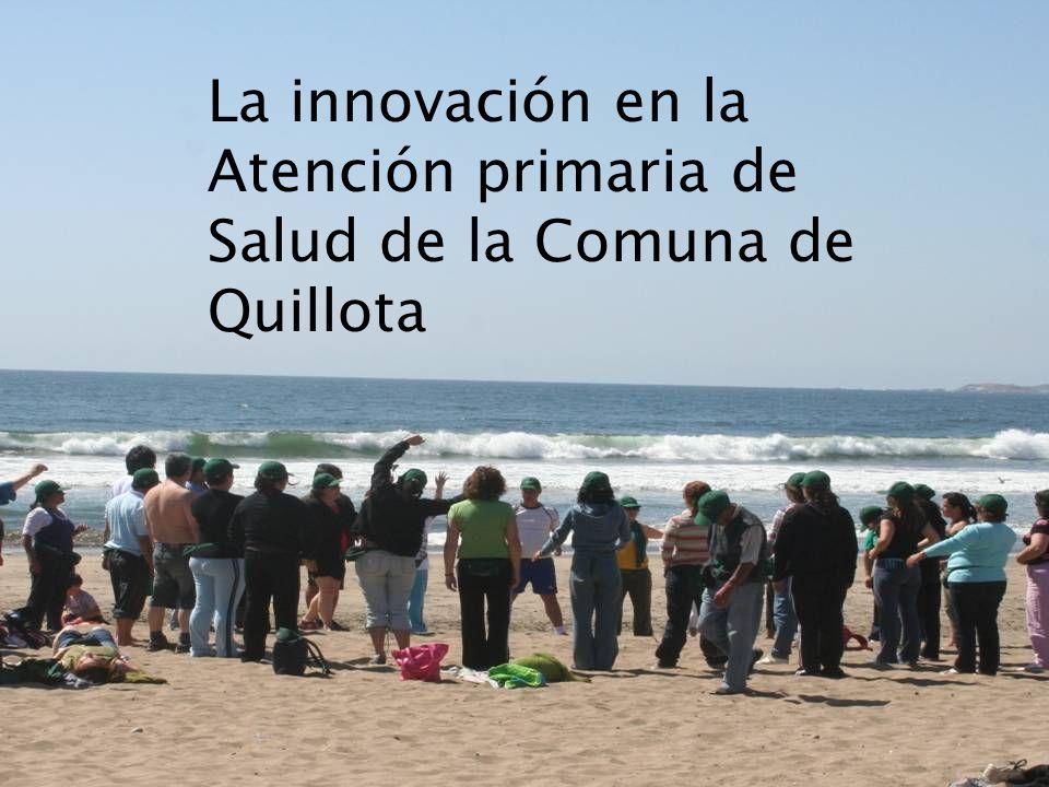 La innovación en la Atención primaria de Salud de la Comuna de Quillota