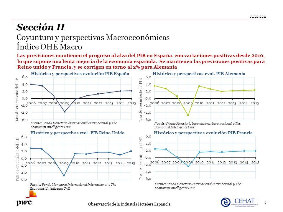 Las previsiones mantienen el progreso al alza del PIB en España, con variaciones positivas desde 2010, lo que supone una lenta mejoría de la economía