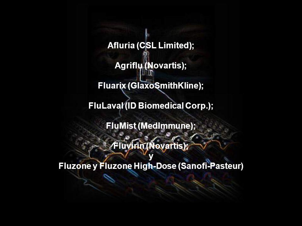 Las vacunas y laboratorios autorizados (para forrarse) serán:laboratorios autorizados