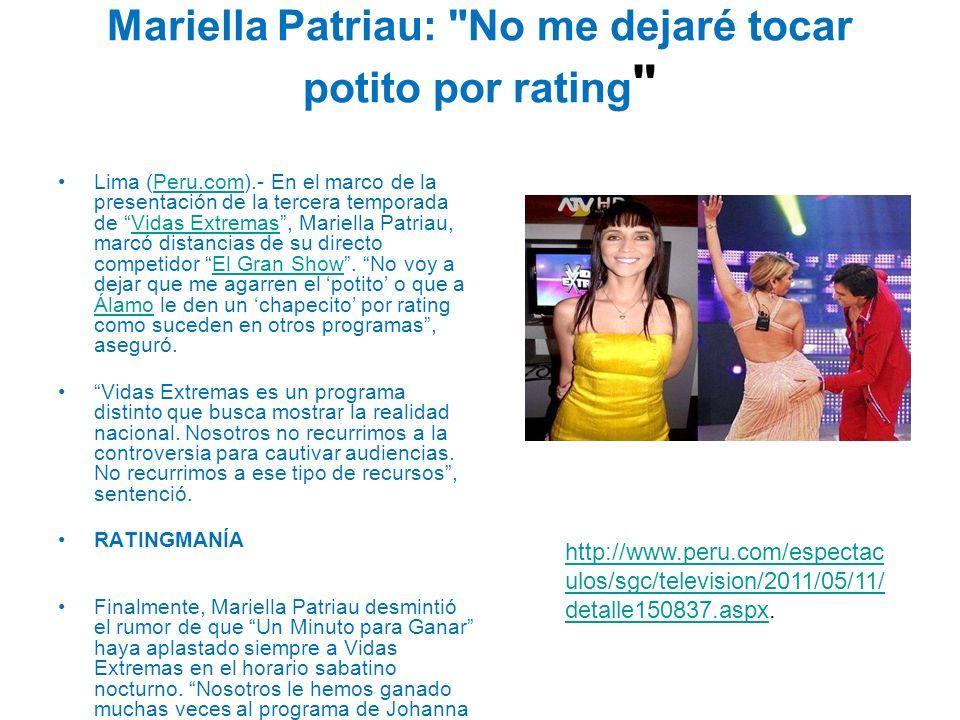 Mariella Patriau: