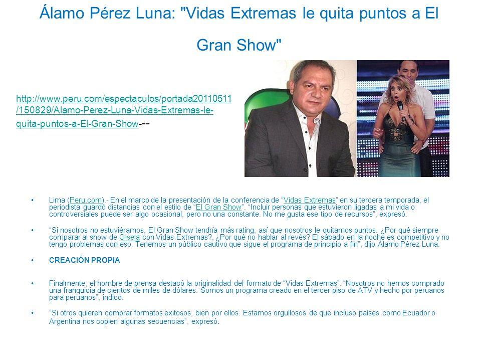 Álamo Pérez Luna: