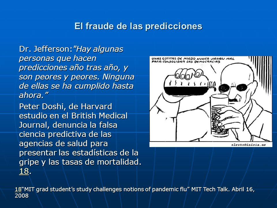 El fraude de las predicciones Dr. Jefferson: