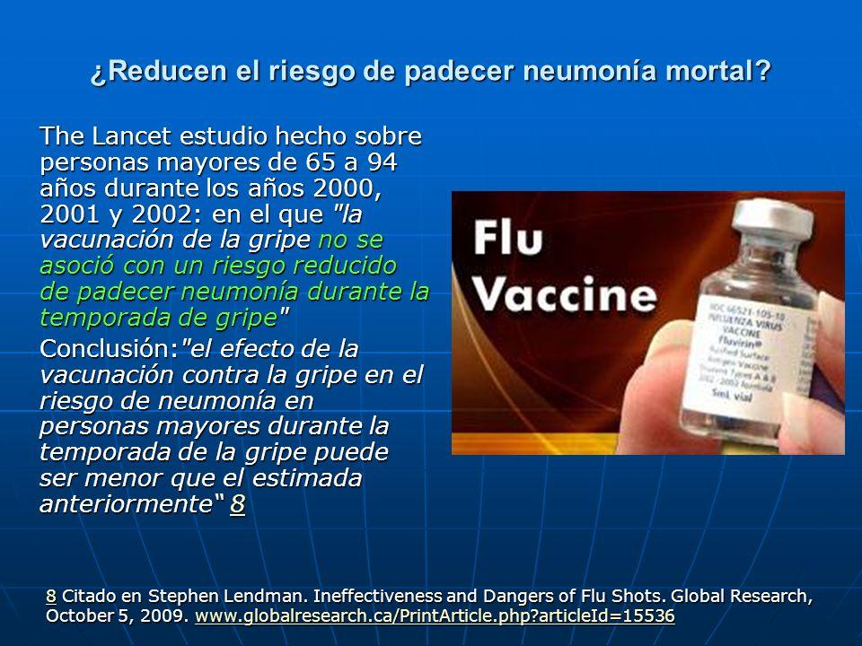 ¿Si no se vacunase habría más enfermos de gripe.