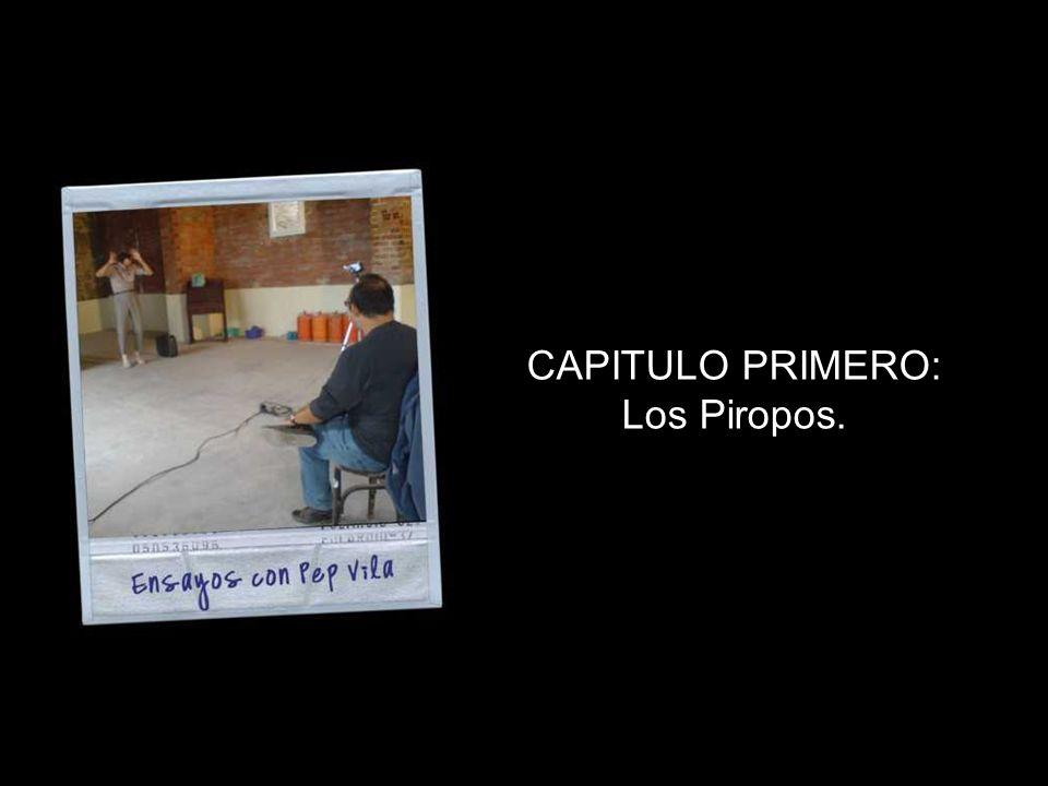 CAPITULO PRIMERO: Los Piropos.