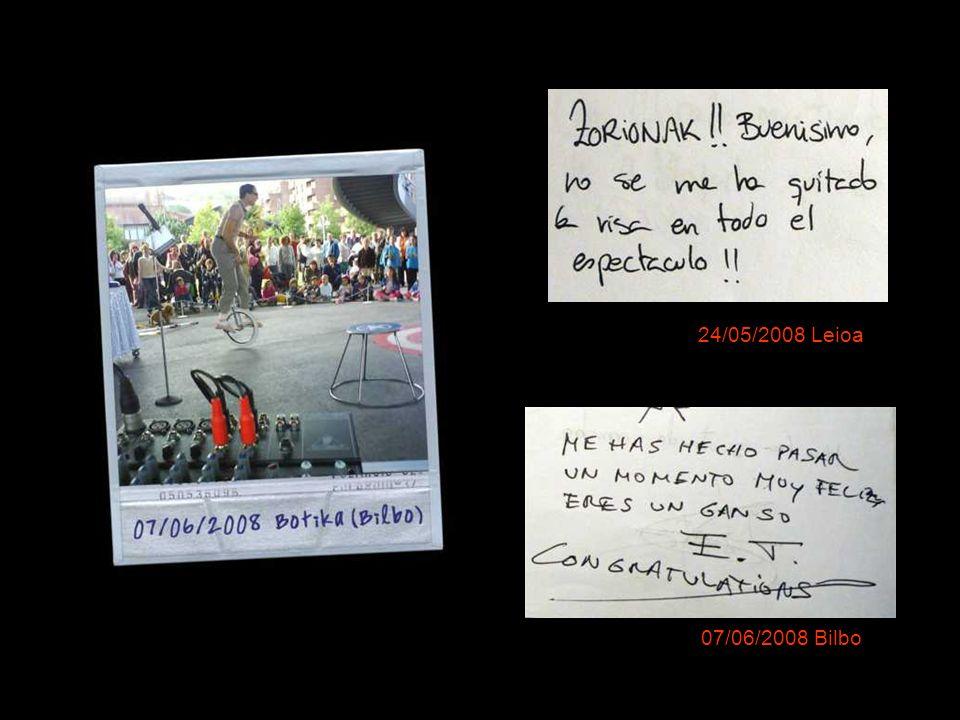 8 y 9/0 7/2008 Kalealdi de Bilbao