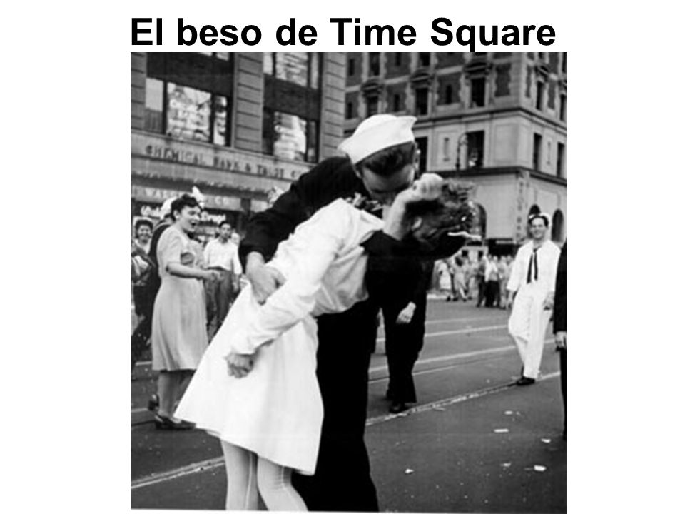 El beso de Time Square