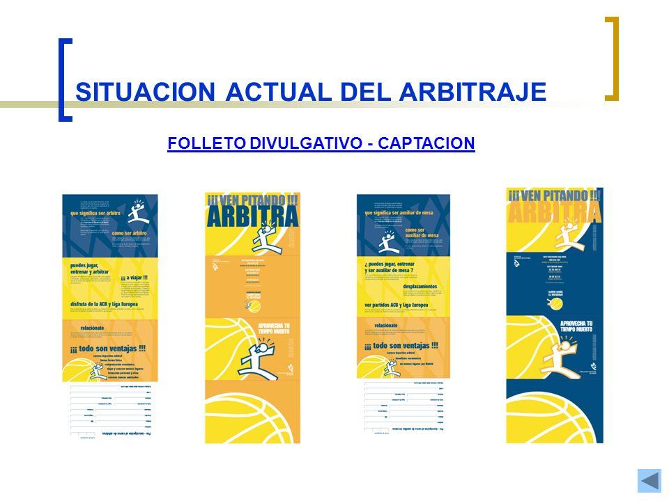 SITUACION ACTUAL DEL ARBITRAJE FOLLETO DIVULGATIVO - CAPTACION
