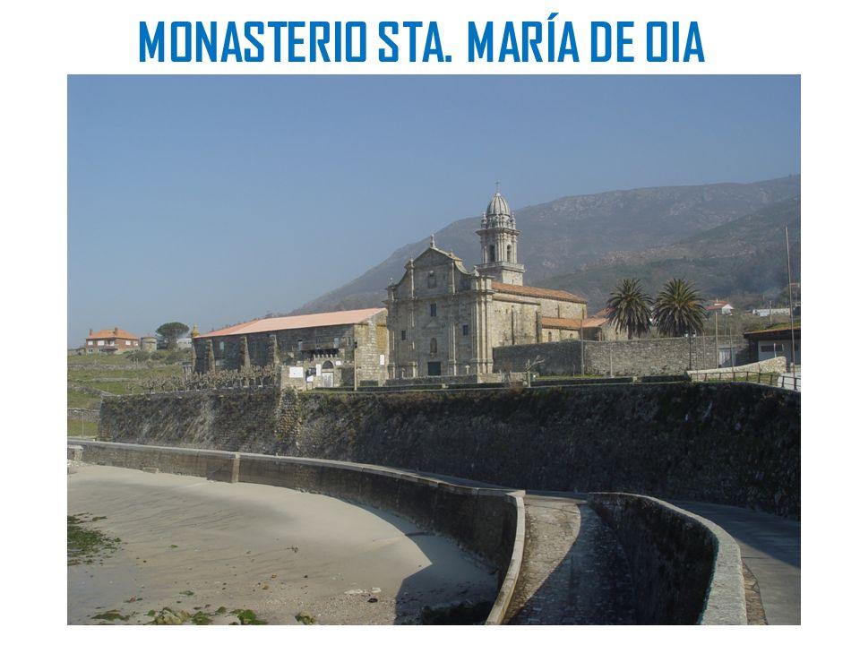 MONASTERIO STA. MARÍA DE OIA