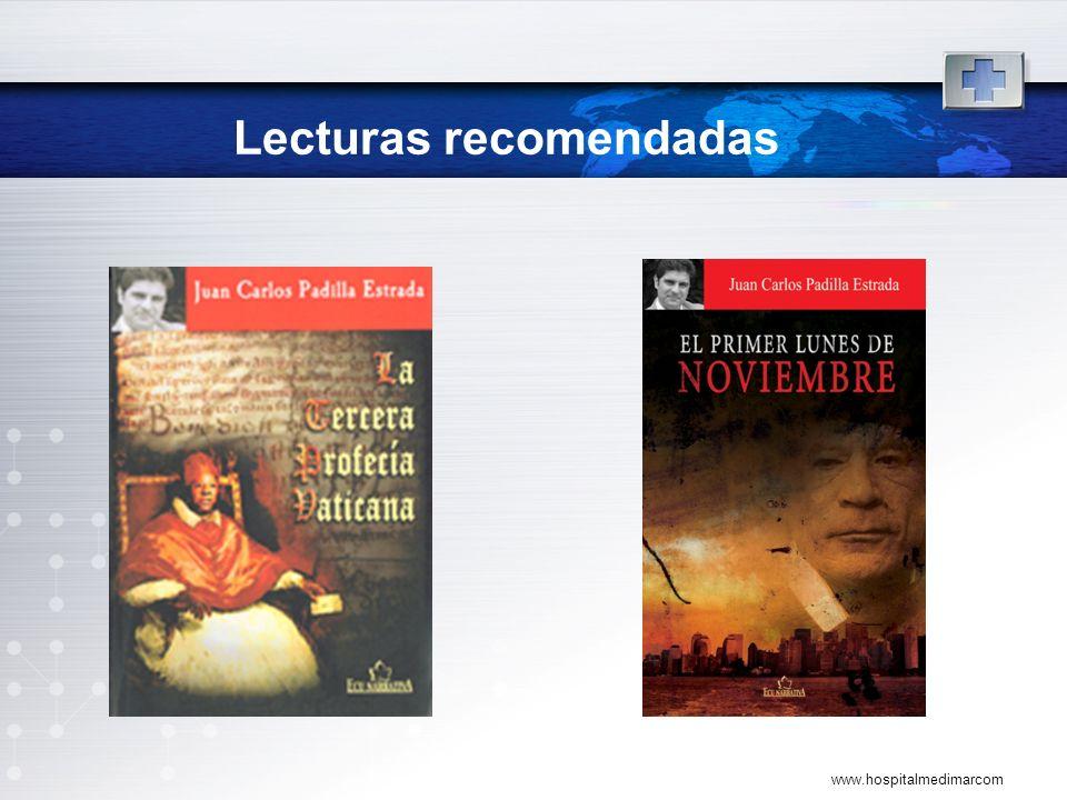 Lecturas recomendadas www.hospitalmedimarcom