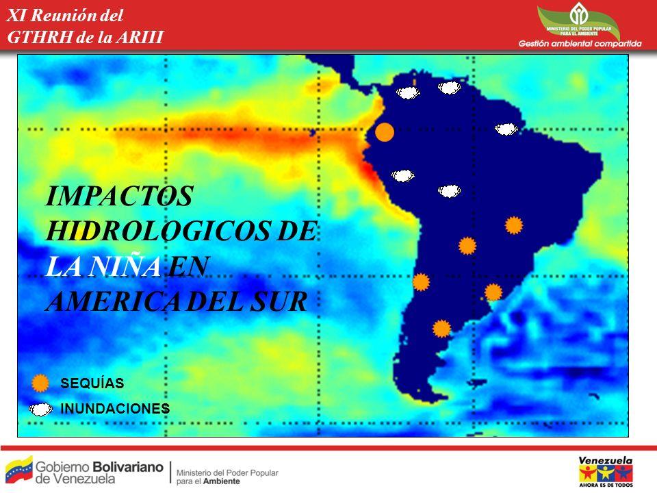 Paraguay Extrema sequía.