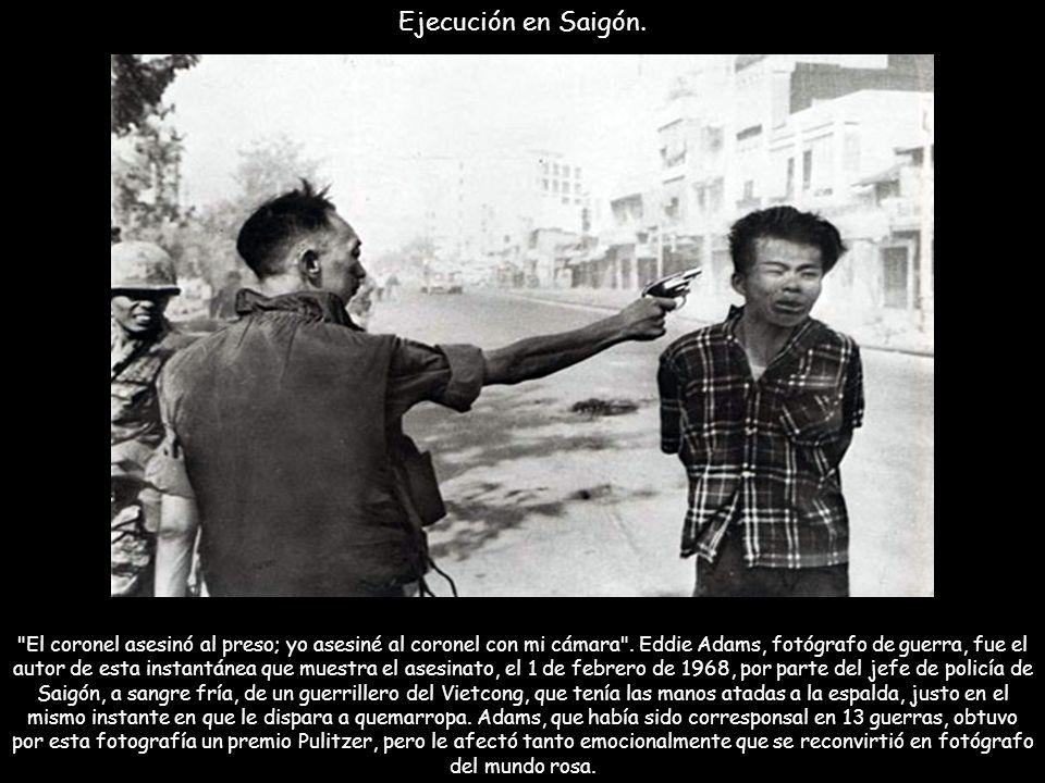 Protesta silenciosa. Thich Quang Duc, nacido en 1897, fue un monje budista vietnamita (también llamados bonzos) que se inmoló hasta morir en una calle