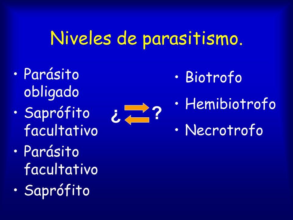 Patogenicidad y parasitismo. Patógeno = ? Patogénesis = ? Patogenicidad = ? Parásito = ?