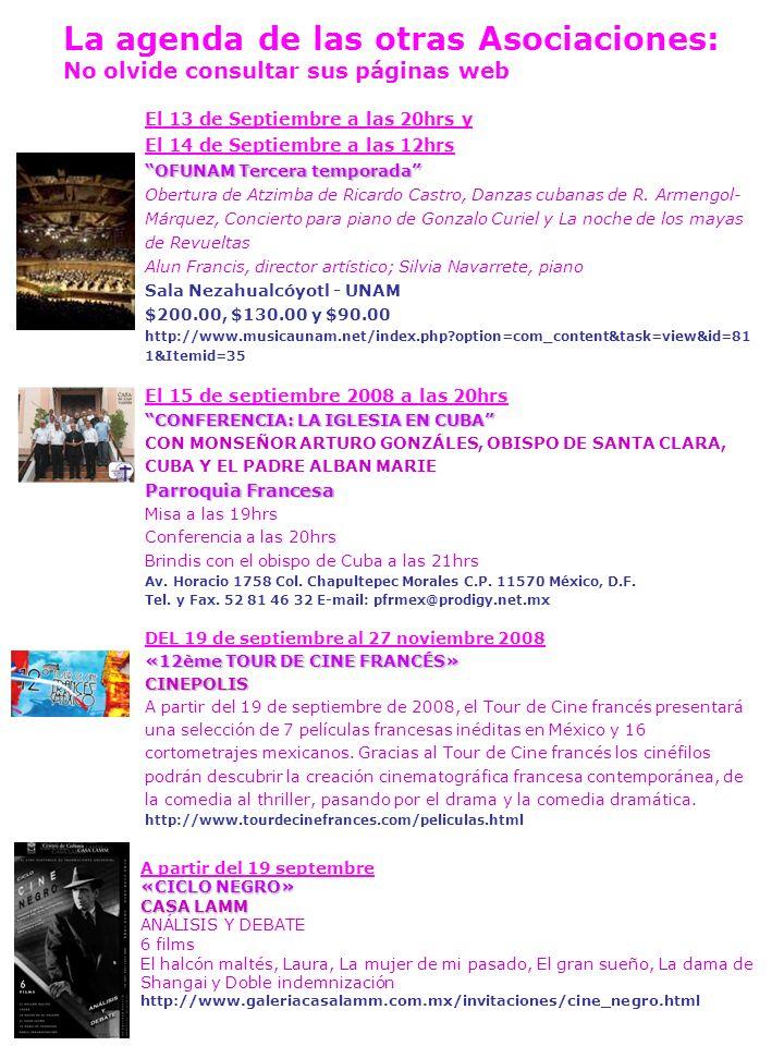 TOURNÉS VERS LA FRANCE INFORMACIÓN PARA LAS FAMILIAS DE LA CIRCUNSCRIPCIÓN CONSULAR- 2º CLB MÉXICO I.