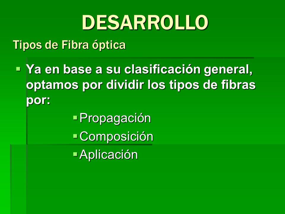 Ya en base a su clasificación general, optamos por dividir los tipos de fibras por: Ya en base a su clasificación general, optamos por dividir los tip
