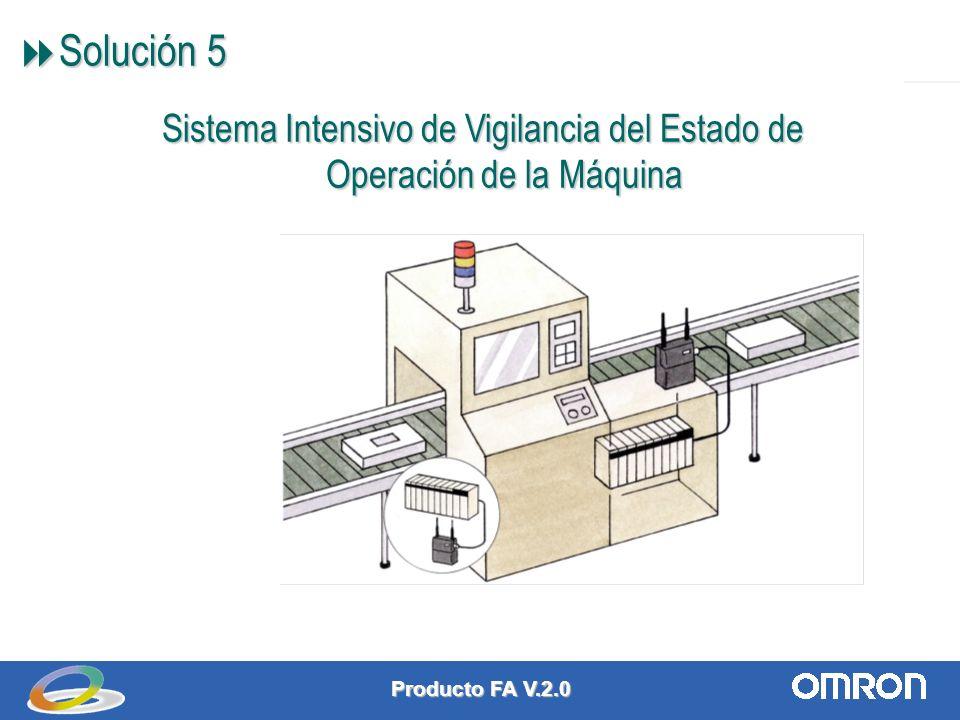 Producto FA V.2.0 7 Solución 5 Solución 5 Sistema Intensivo de Vigilancia del Estado de Operación de la Máquina