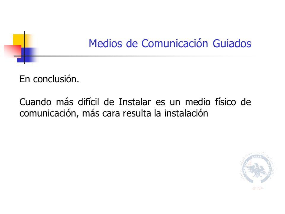 Medios de Comunicación Guiados En conclusión.
