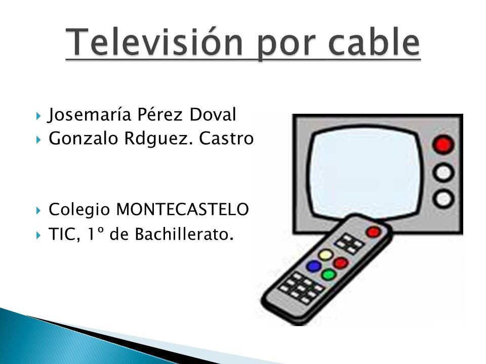 La televisión por cable surge por la necesidad de llevar señales de televisión y radio, de índole diversa, hasta el domicilio de los abonados, sin necesidad de que estos deban disponer de diferentes equipos receptores, reproductores y sobre todo de antenas.