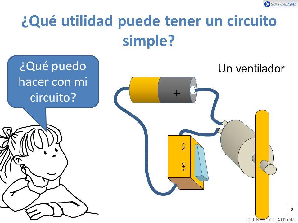 ¿Qué utilidad puede tener un circuito simple.¿Qué puedo hacer con mi circuito.